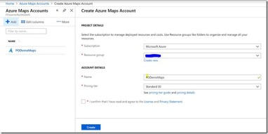 Address Validation in PowerApps using Azure Maps Service